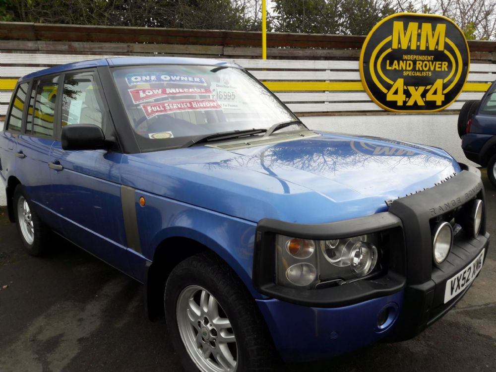 ***SOLD***Range Rover TD6 Vogue 2002***SOLD***
